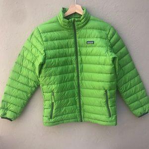 PATAGONIA XL kids green jacket